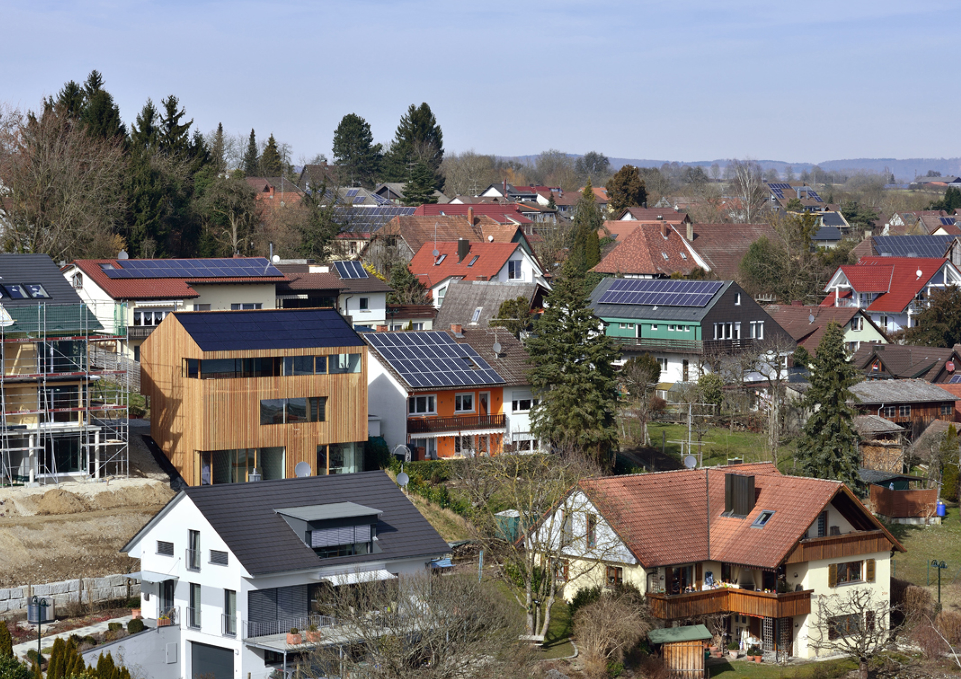 BV Holzhaus – PV